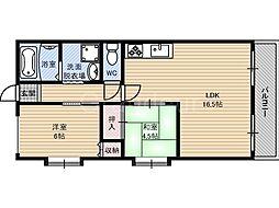 新森サニーガーデン[1階]の間取り