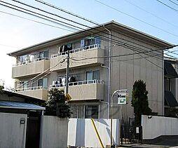 京都府京都市右京区宇多野長尾町の賃貸アパートの外観