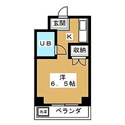 みのるマンション[3階]の間取り