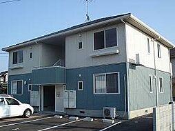 山口県下関市梶栗町3丁目の賃貸アパートの外観