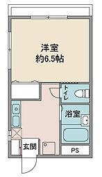 白金ビル[3階]の間取り