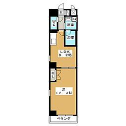 グランルージュ栄[2階]の間取り