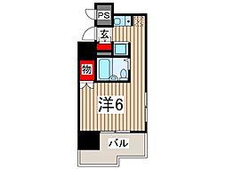 スカイコート西川口第5[8階]の間取り