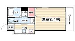 マルティ円町[2-A号室]の間取り