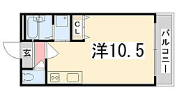 アーバンレジデンス[102号室]の間取り