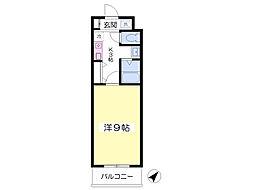 ROXY TAKAHATA 2411[302号室]の間取り