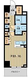 HF新横浜レジデンス[2階]の間取り