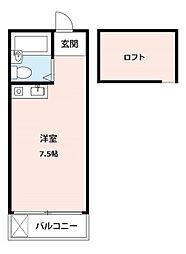 モナークハイムII[2階]の間取り