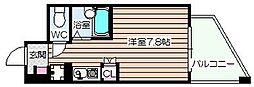 エムロード福島[9階]の間取り