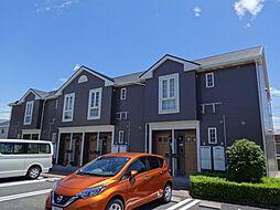 愛知県北名古屋市鹿田大門の賃貸アパートの外観