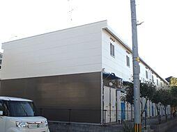 福岡県飯塚市新飯塚の賃貸アパートの外観