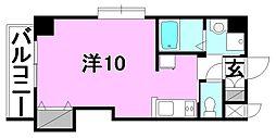 ドルーク三番町[205 号室号室]の間取り