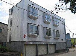 北海道札幌市白石区本通15丁目南の賃貸アパートの外観