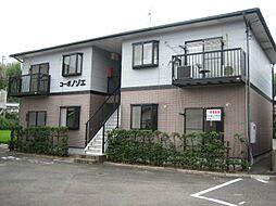 福岡県北九州市小倉南区徳吉西1丁目の賃貸アパートの外観