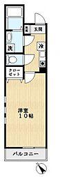 エスポワール船堀[2階]の間取り