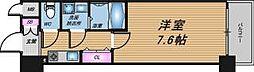 大阪府大阪市中央区内淡路町3丁目の賃貸マンションの間取り