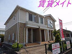 三重県伊勢市黒瀬町の賃貸アパートの外観