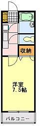ステーションプラザ[4階]の間取り