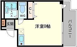 東千里OMパレス3[4階]の間取り