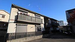 大阪府堺市中区八田寺町の賃貸アパートの外観