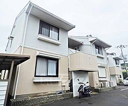 京都府京都市北区上賀茂坂口町の賃貸アパートの外観