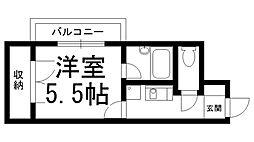 エフォルトII[0302号室]の間取り