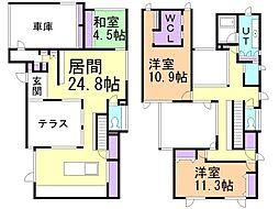 貸家(5−8) 1階3LDKの間取り