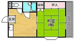 グリーンハイツネネ[2階]の間取り