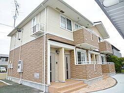 静岡県浜松市東区有玉北町の賃貸アパートの外観