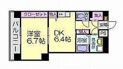 ケイズマンション5[2階]の間取り