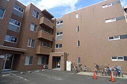 北海道札幌市豊平区平岸一条9の賃貸マンションの外観