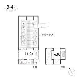 SQUARES(スクエア)[2階]の間取り