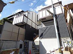 兵庫県神戸市灘区国玉通3丁目の賃貸アパートの外観