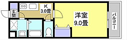 BE−FULLⅠ[2階]の間取り