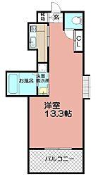 Grand E'terna福岡天神橋[1612号室]の間取り
