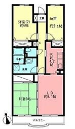 ヴェルドミール壱番館[1階]の間取り