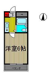 前川ヒルズ[2階]の間取り