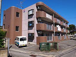 群馬県太田市熊野町の賃貸マンションの外観