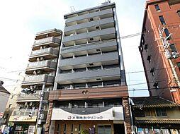 京都府京都市上京区飛鳥井町の賃貸マンションの外観