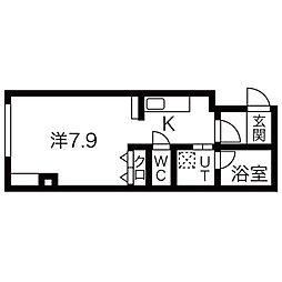 アクシルコート[5階]の間取り