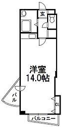 ラベニュー札幌[503号室]の間取り