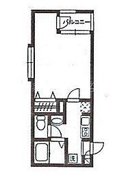 RBフラッツ[3階]の間取り