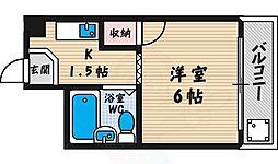【敷金礼金0円!】西田ハイツ天王寺