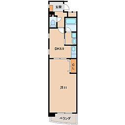 Ritz Carlton[10階]の間取り