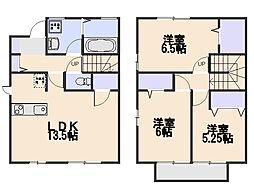 [テラスハウス] 東京都小平市花小金井5丁目 の賃貸【/】の間取り
