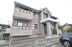 岐阜県可児市羽崎の賃貸アパートの外観