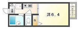 プロジェクトハイツ[1階]の間取り