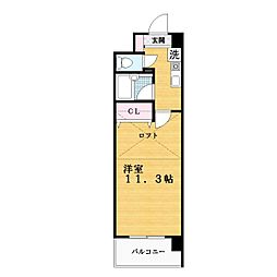 MAISON  JEUNESSE[4階]の間取り