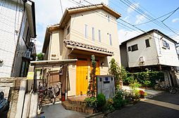東京都調布市西つつじヶ丘4丁目の賃貸アパートの外観