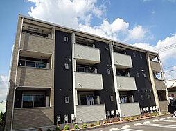 愛知県北名古屋市片場天王森の賃貸アパートの外観